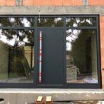 Drzwi aluminiowe na zawiasach chowanychDrzwi aluminiowe na zawiasach chowanych Kraków