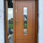 Drzwi wejsciowe dębow z firmy Wiatrak
